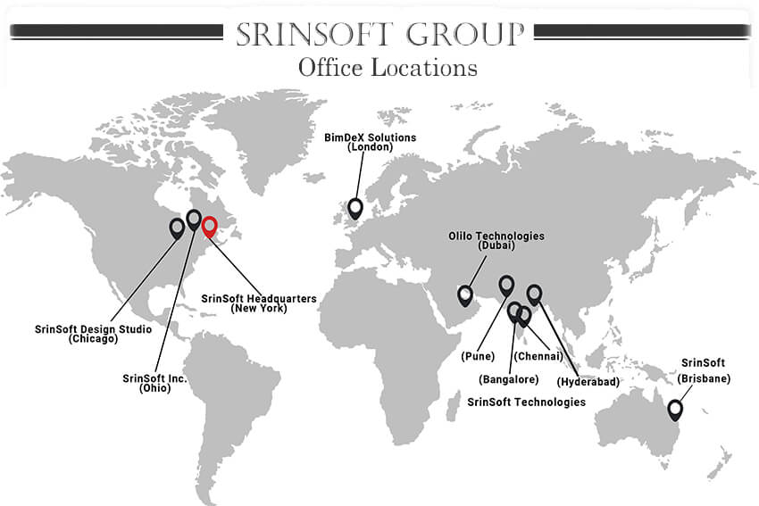srinsoft group office locations