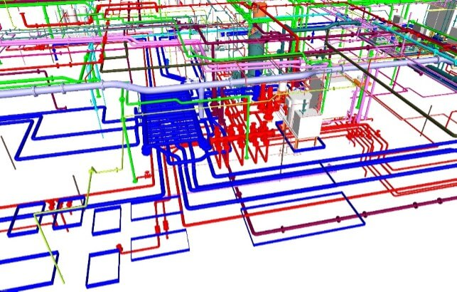 MEP BIM Services | MEP CAD drafting | Revit 3D modeling