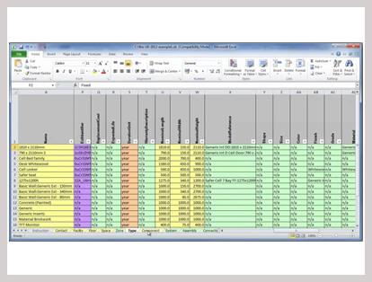 7D BIM Facilities Management and Maintenance Software, 7D
