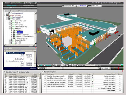 srinsoft simulation of construction sequence-medium