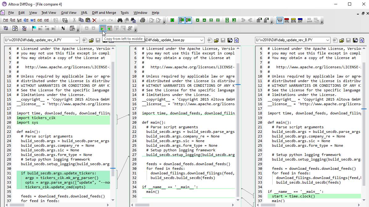 Altova MapForce, StyleVision, XMLSpy - Data management